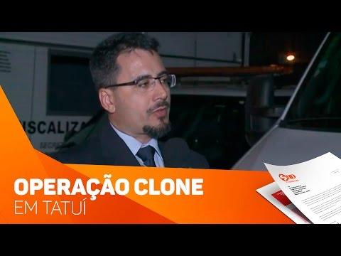 Operação Clone em Tatuí- TV SOROCABA/SBT