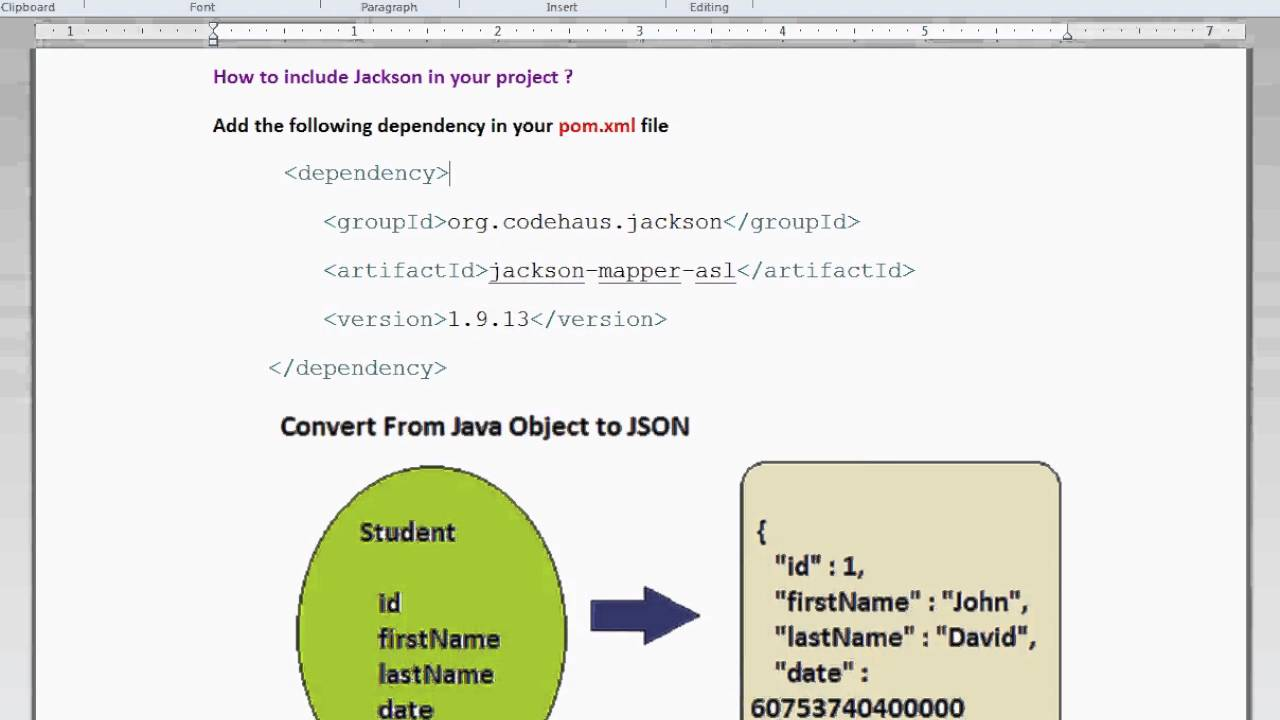 HOW TO CONVERT JAVA OBJECT TO JSON