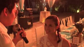 Best Romantic Beach Wedding Proposal!!! Paul & Theresa, Boracay 12/02/14