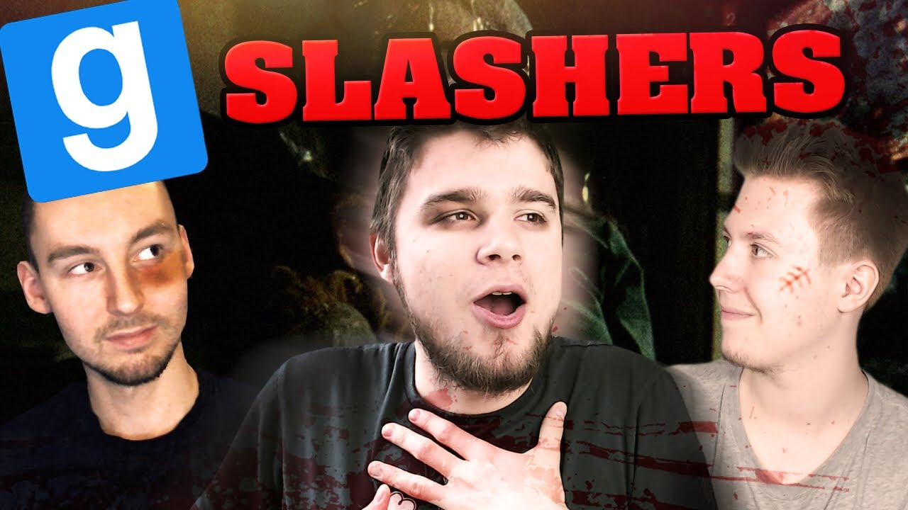 UCIEKAM STĄD! | Slashers [#2] Garry's Mod [#667] (With: EKIPA)