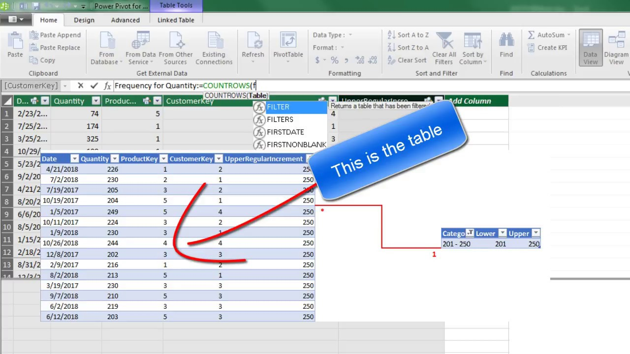 Excel Magic Trick 1398: DAX Formulas for Running Total and % of Running  Total & other DAX Tricks