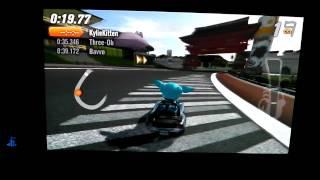 Mod Nation Racers Road Trip PS Vita Race station