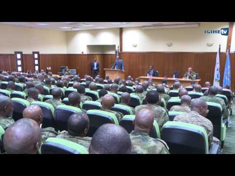 President Paul Kagame meeting with RDF Senior Command and Staff