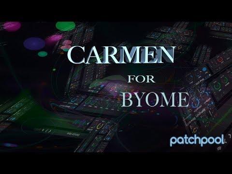 Carmen for BYOME – Bubble Man – Drum Processing