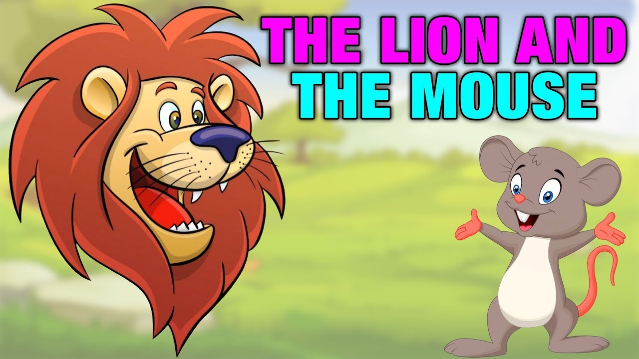 The Lion And The Mouse Story Telling In English For Kids Simba Tv Childrens Moral Stories Youtube