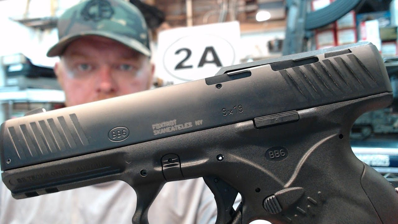 BB Techs BB6 9mm Pistol Sight Installation & Info : With Special Guest Wilhelm Bubits