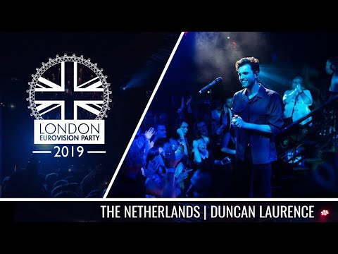 Duncan Laurence - Arcade (The Netherlands) | LIVE | OFFICIAL | 2019 London Eurovision Party