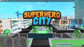 Roblox Superhero City ~ Auto type /save in chat box for people **NOT NEEDED ANYMORE**
