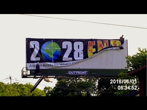 2028 End Billboard Install - Nashville, Tennessee (June 1, 2016)