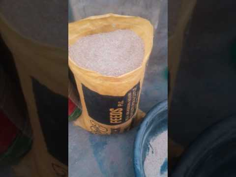How to make feeds with concentrate right in your home - Part2