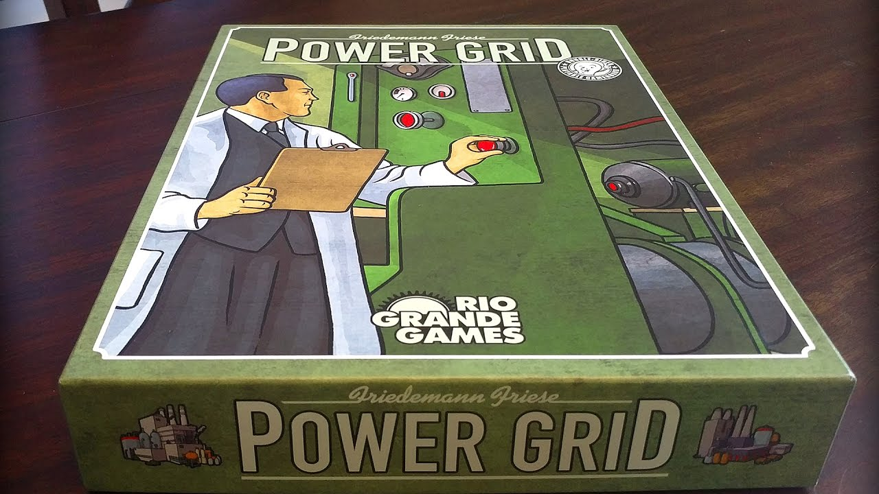 how to play power grid board game