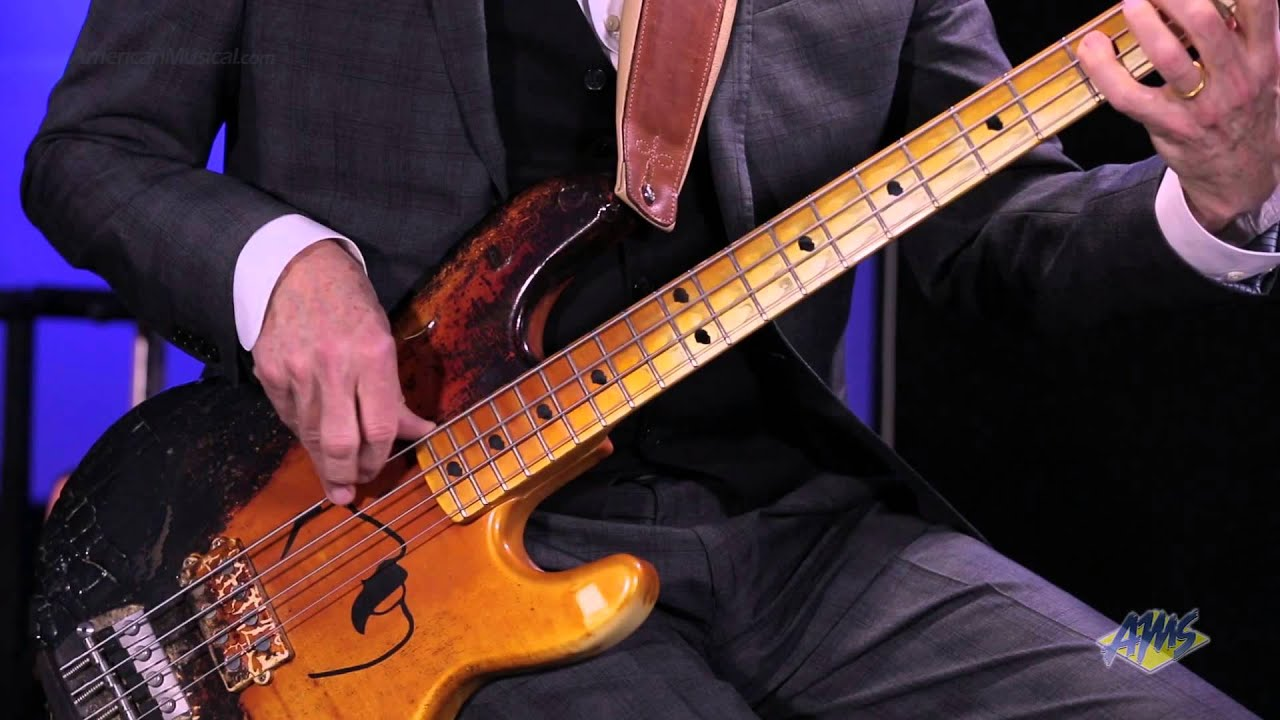 AMS Exclusive Tony Levin Performance - Bass Solo - YouTube