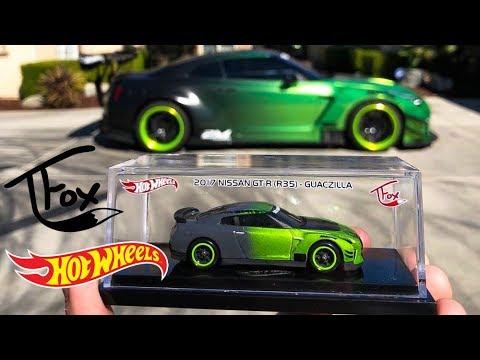 NEW Tanner Fox Hot Wheels Nissan GT-R