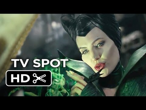 Maleficent TV SPOT  Magnificent 2014  Angelina Jolie Movie HD