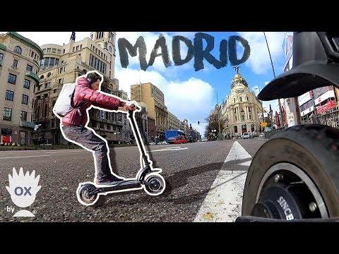 Scooter: Descubriendo Madrid con DUALTRON 🛴 1.000kms cumplidos!