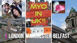 VLOG | UK TOUR | LONDON.MANCHESTER.BELFAST | 4K | HINDI