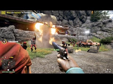 All Takedown Kills from Far Cry 4