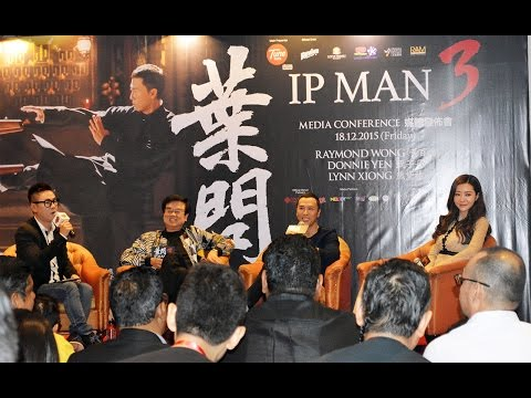 【IP MAN 3 葉问3】Press Conference in Malaysia 马来西亚记者招待会