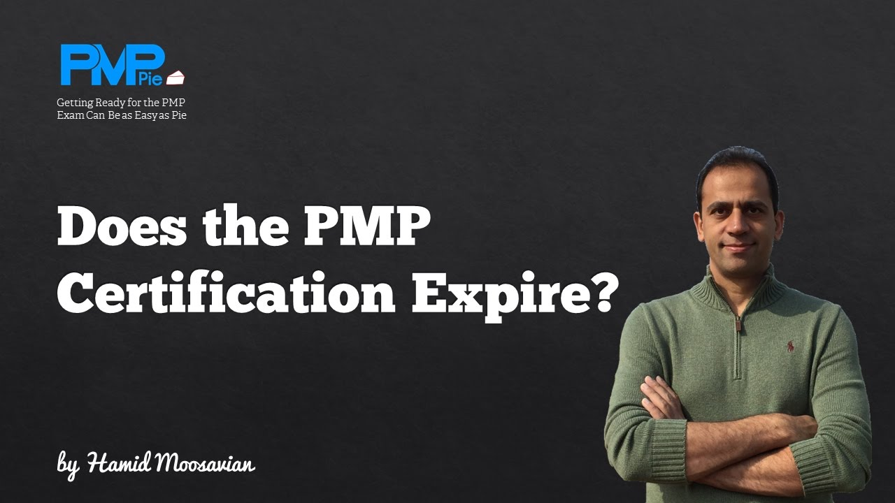 Does The Pmp Certification Expire Youtube