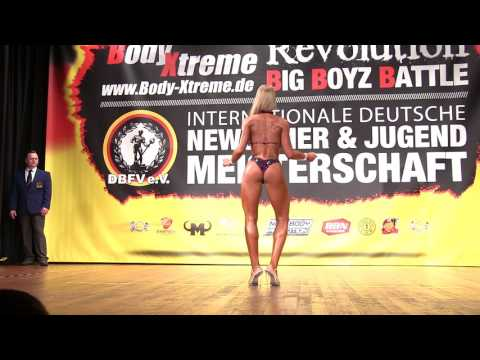 Deutsche Jugendmeisterschaft 2017   Bikini Fitness