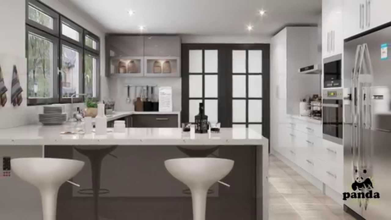 3D Designs With Panda Kitchens Australia