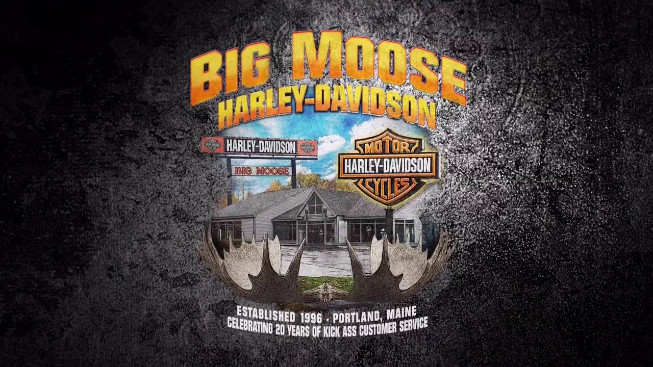 Birthday Ecards Harley Davidson ~ The big moose harley davidson family wish steve reynolds a happy
