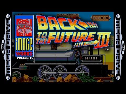 Back to the Future III Mega Drive  Partida completa