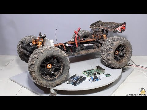 Monster Truck Zombie 8E Conversion To A Browser Controlled Rover