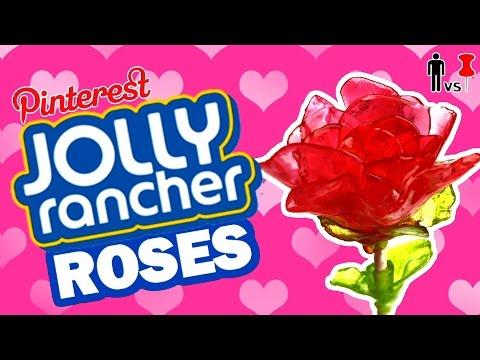 DIY Jolly Rancher Roses – Pinterest Test – Man Vs Pin #81