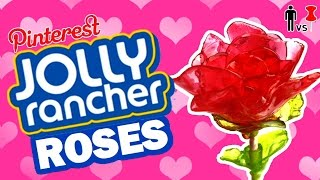 DIY Jolly Rancher Roses - Pinterest Test - Man Vs Pin #81