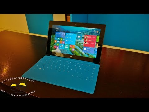 Microsoft Surface RT with Windows 8.1 Walkthrough
