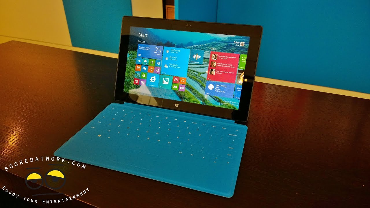 microsoft surface rt with windows 8 1 walkthrough youtube. Black Bedroom Furniture Sets. Home Design Ideas