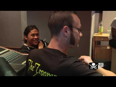 """As I Lay Dying """"The Powerless Rise"""" Studio Clip #3"""