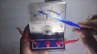 How to find Ammeter and Voltmeter reading | How are ammeter and voltmeter  connected-Kisembo Academy