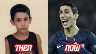 Angel di maria transformation then and now (face & body & tattoo) | 2017 new