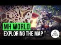 Monster Hunter World   Exploring the Map, Multiple Base Camps & More!