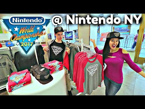 EXCLUSIVE Nintendo World Championships Clothes at Nintendo NY!