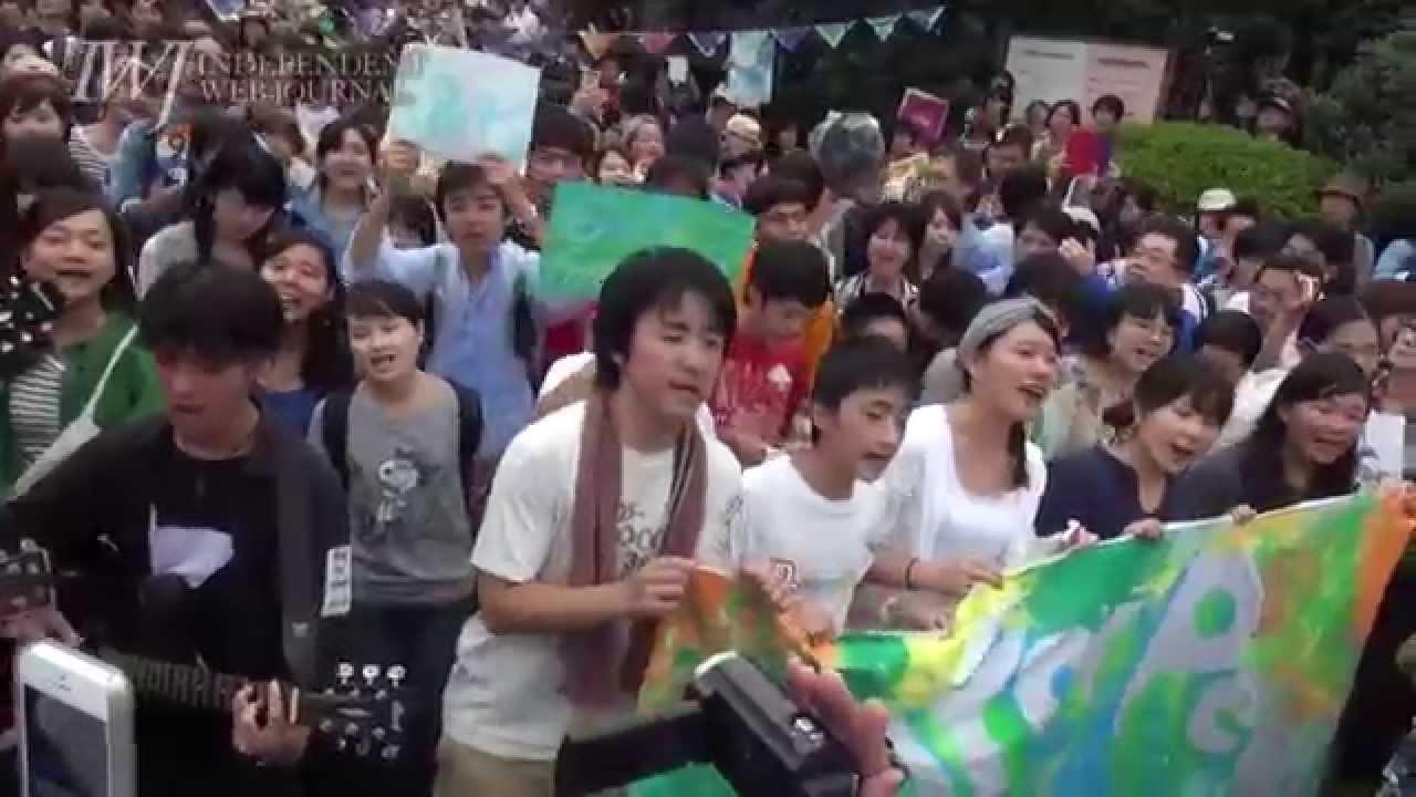 自由の森学園有志合唱『民衆の歌...