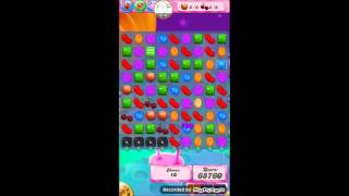 Candy crush saga level 1210 No booster