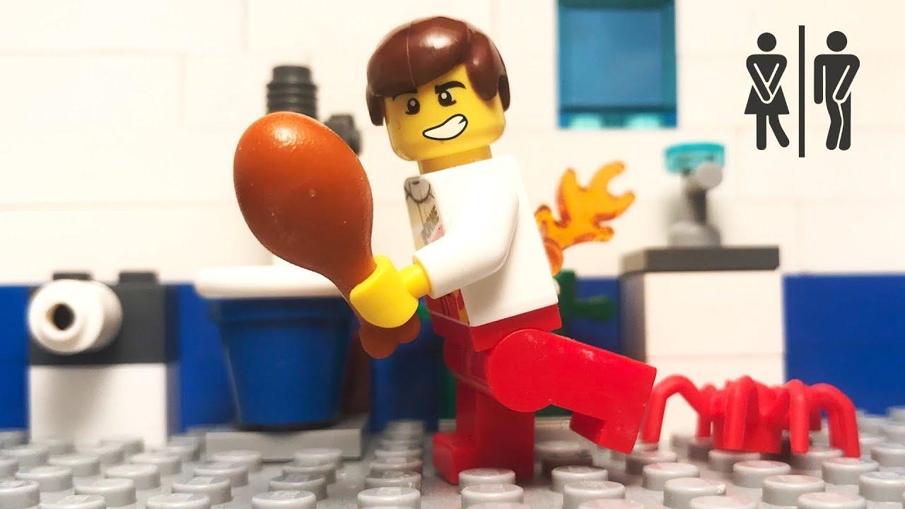 Lego Toilet Fail 💩