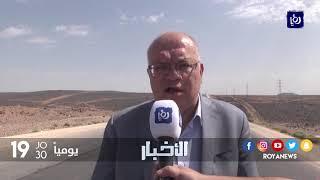وزير الأشغال العامة يتفقد الطريق المؤدية إلى الحدود العراقية - (23-9-2017)