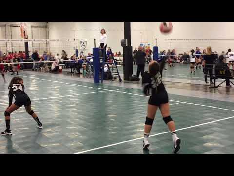 Triton's12-U  TVC vs The Academy and New Palestine in Academy Volleyball Tournament