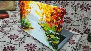 DIY Laptop Skin | Best way to show off your Painting Skills