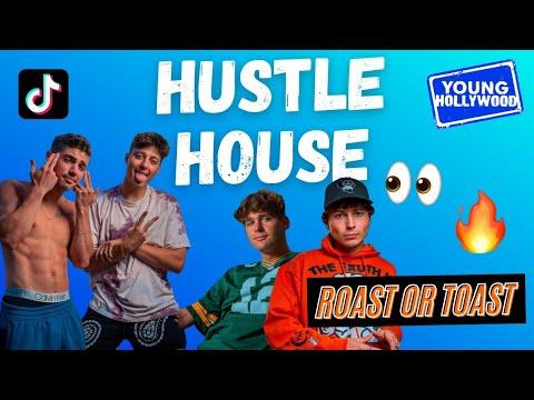 Hustle House Boys Play Roast or Toast!