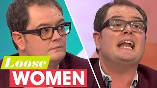 Alan Carr Opens Up About Friend Justin Lee Collins | Loose Women