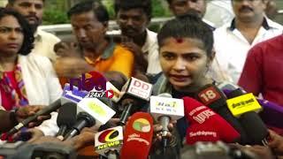 Chinmayi on Vairamuthu Will see in court சட்ட ரீதியான நடவடிக்கைகள் குறித்து முடிவு செய்வேன்