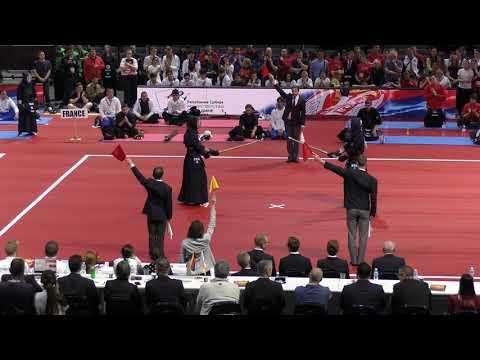 EKC(European Kendo Championships) 2019 Men's Team Final : France - Serbia