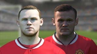 FIFA 11-15 vs PES 11-15 (Wayne Rooney) Thumbnail
