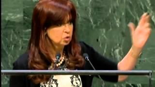 Discurso completo Cristina Fernández en la ONU 2014