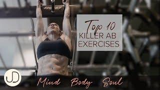 *10 BEST KILLER AB EXERCISES* Watch Janine Delaney's Top 10 Killer Ab Workout